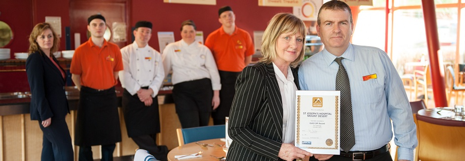 Q Cafe wins healthcare restaurant of the year award
