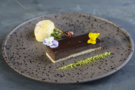 Contract catering Company Q Cafe Chocolate dessert