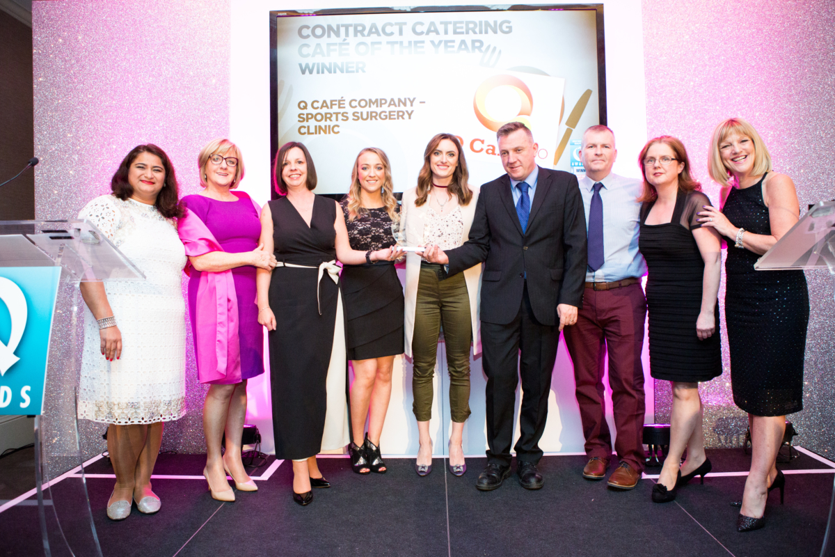 Irish Foodservice Quality Food Awards Contract Catering Cafe of the Year