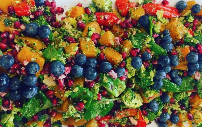 Picture of light summer salad