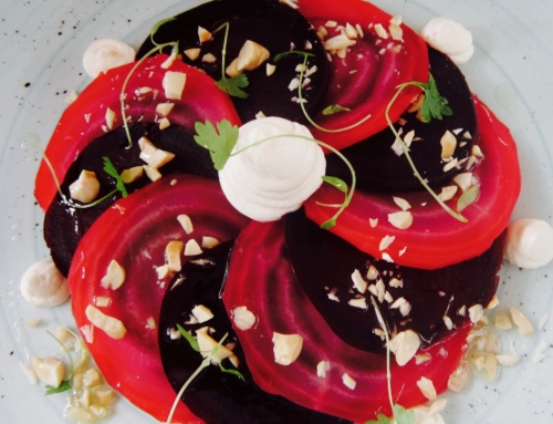 Beetroot, Goats Cheese & Hazelnut Salad Recipe