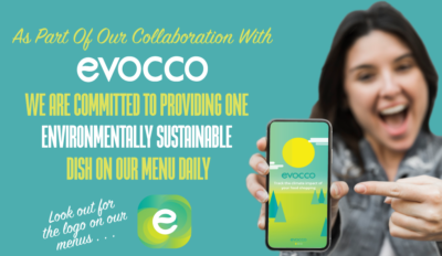 explanation of one menu option with evocco and the q cafe company