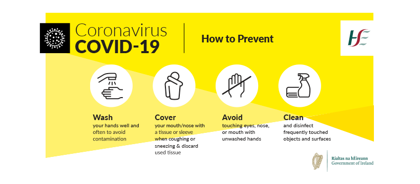 coronavirus advice from HSE