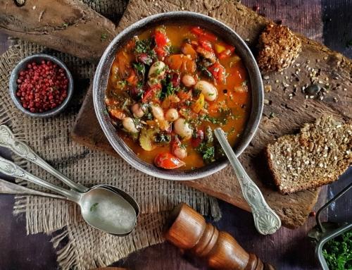 Paul's Store Cupboard Chorizo & White Bean Soup